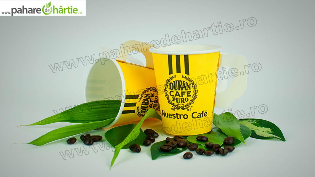 Pahare de carton pentru cafea