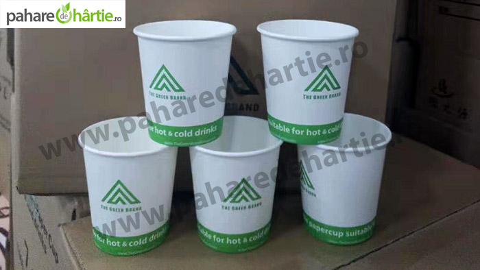 pahare carton ceai 180 ml